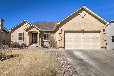 Colorado Springs CO Single Family Home Under Contract: $379,999