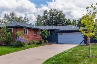 Centennial Single Family Home Under Contract: 6856 South Cook Way