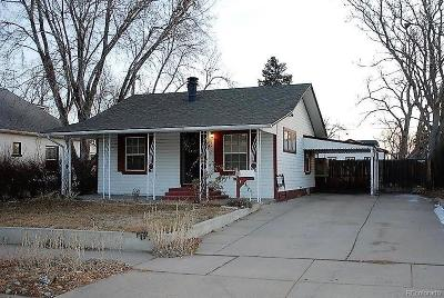 Englewood Single Family Home Active: 3746 South Bannock Street