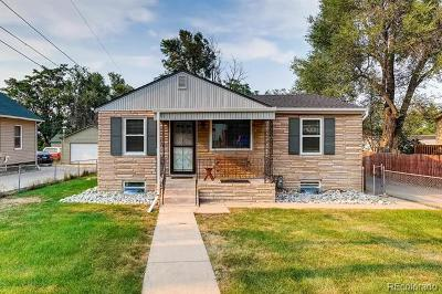 Denver Single Family Home Active: 4091 West 53rd Avenue