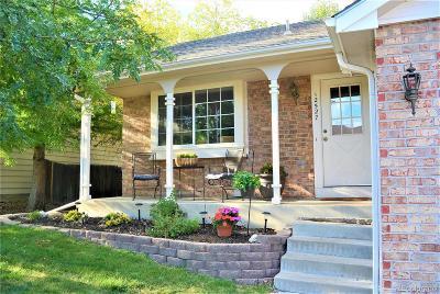 Littleton Single Family Home Active: 12527 West Prentice Drive