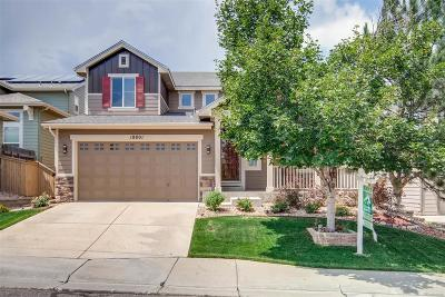 Highlands Ranch Single Family Home Under Contract: 10801 Huntwick Street
