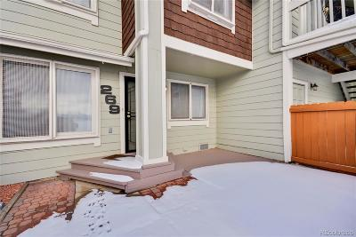Arvada Condo/Townhouse Under Contract: 6962 West 87th Way #269