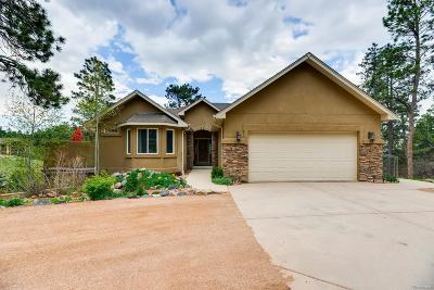 Monument Single Family Home Under Contract: 141 Spring Time Court