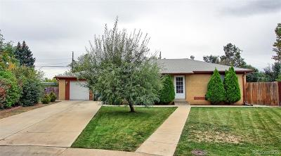 Westminster Single Family Home Under Contract: 7715 Quitman Street