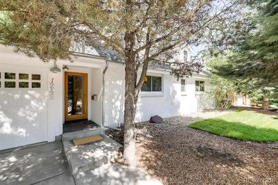 Boulder Single Family Home Active: 1245 Georgetown Road