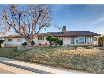 Denver Single Family Home Active: 3410 South Cherry Street