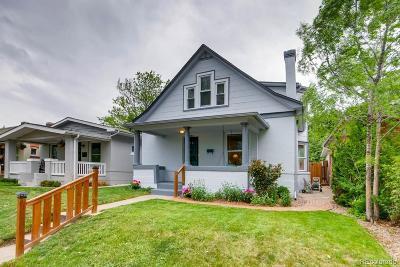 Denver Single Family Home Active: 3880 Osceola Street