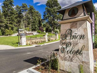 Castle Rock Residential Lots & Land Active: 2164 Avenida Del Sol