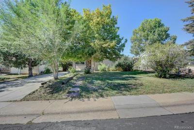 Westminster Single Family Home Under Contract: 8051 Knox Court