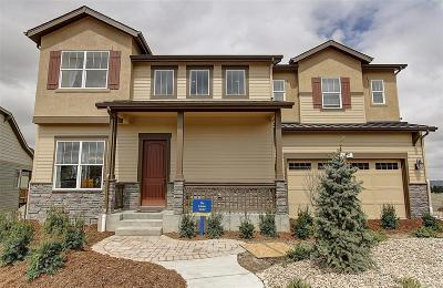 Castle Rock Single Family Home Active: 354 Sage Grouse Circle