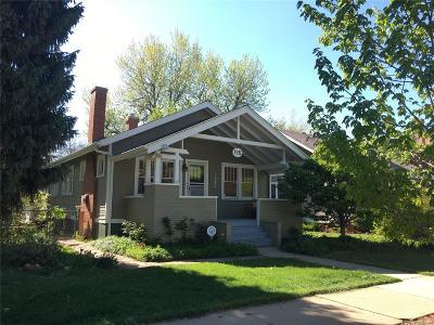 Denver Single Family Home Active: 3931 Vrain Street