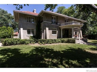 Single Family Home Sold: 2627 East 7th Avenue Parkway