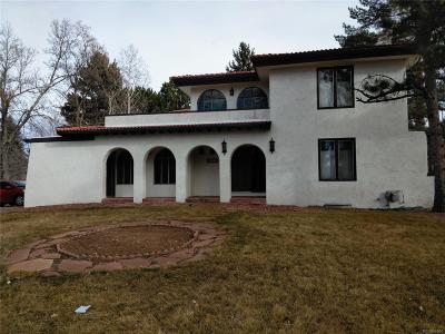 Broomfield Single Family Home Active: 1190 Eagle Road