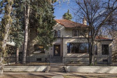 Denver Single Family Home Active: 768 Detroit Street