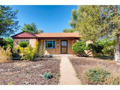 Denver Single Family Home Active: 2245 Rosemary Street