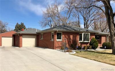 Denver Single Family Home Active: 1634 South Ivy Way