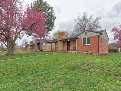 Denver CO Single Family Home Active: $549,000