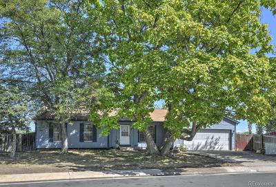 Westminster Single Family Home Under Contract: 8167 West 93rd Circle