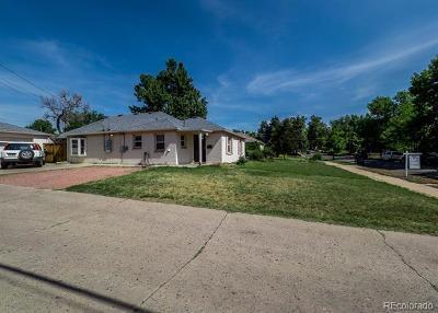Denver Single Family Home Active: 2627 Hazel Court