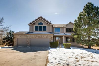 Colorado Springs Single Family Home Active: 15295 Jessie Drive
