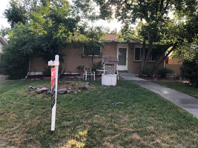 Arvada Single Family Home Under Contract: 8473 Chase Street