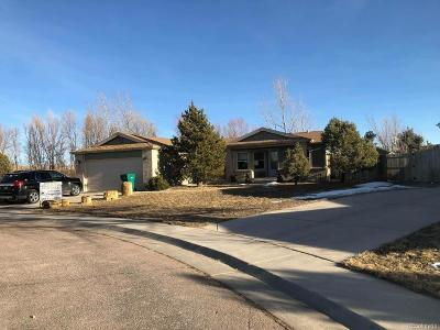 Kiowa Single Family Home Under Contract: 652 Shasta Court