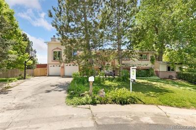 Littleton Single Family Home Active: 8456 West Capri Place