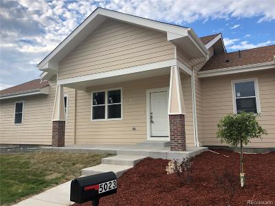 Denver Single Family Home Active: 5023 Quari Street #B