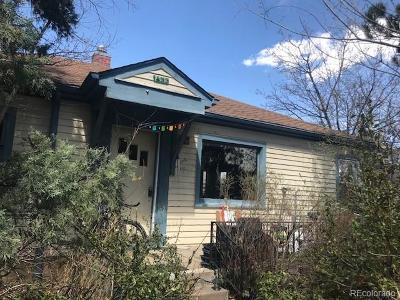 Boulder Single Family Home Active: 1633 Columbine Avenue