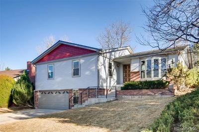 Single Family Home Active: 7668 East Bates Drive