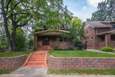Denver Single Family Home Under Contract: 4127 East 17th Avenue Parkway