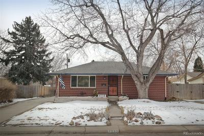 Arvada Single Family Home Under Contract: 7232 West 67th Place