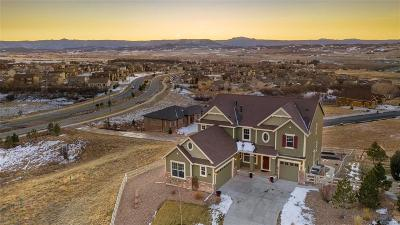 Castle Rock Single Family Home Active: 3785 Eveningglow Way