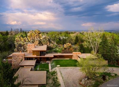 Boulder Single Family Home Active: 165 Green Rock Drive
