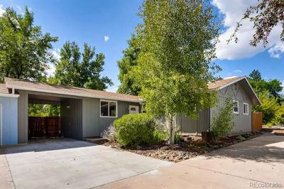 Boulder CO Single Family Home Active: $525,000