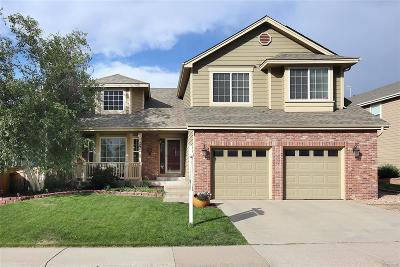 Highlands Ranch Single Family Home Under Contract: 9764 Spring Hill Street