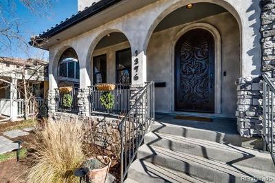 Denver Single Family Home Active: 1376 South Clayton Street