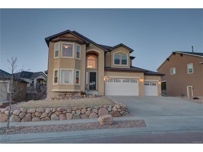 Colorado Springs Single Family Home Active: 247 Coyote Willow Drive