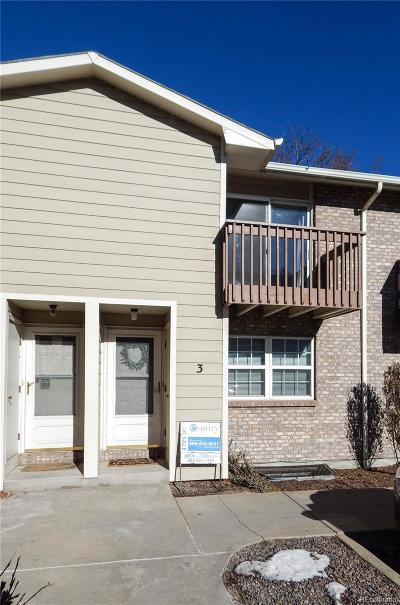 Longmont Condo/Townhouse Active: 1865 Terry Street #3