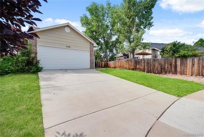 Castle Rock Single Family Home Under Contract: 566 Howe Place