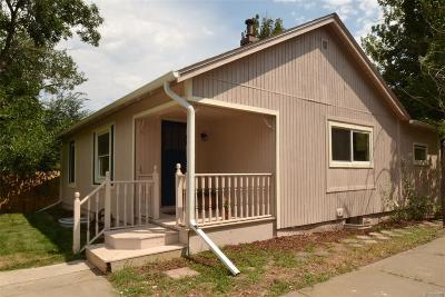 Lafayette Single Family Home Active: 802 East Baseline Road #D