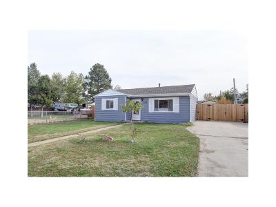 Commerce City Single Family Home Active: 7116 East 66th Place