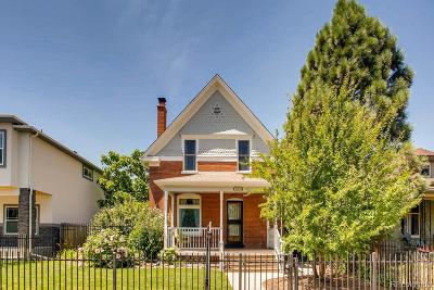 Denver Single Family Home Under Contract: 3043 Race Street