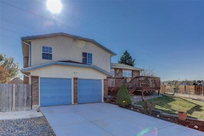 Aurora Single Family Home Under Contract: 16106 East Bails Place