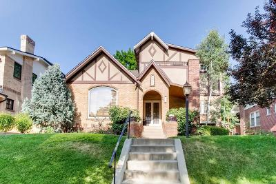 Denver Single Family Home Under Contract: 532 South Corona Street