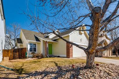 Aurora Single Family Home Active: 4862 South Tower Way
