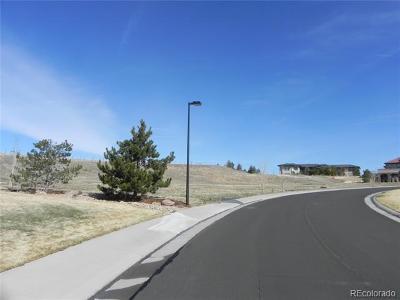Castle Rock Residential Lots & Land Active: 7655 Kryptonite Lane