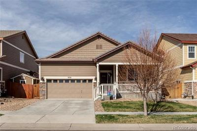 Commerce City Single Family Home Under Contract: 9781 Mobile Street