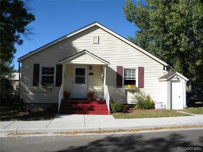 Calhan Single Family Home Active: 645 7th Street